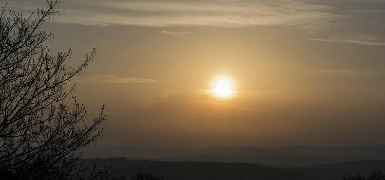 Sonnenaufgang über dem Weißtal